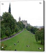 Edinburgh Park  Acrylic Print