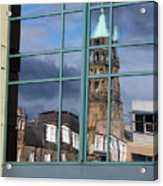 Edinburgh Self Interpreted  Acrylic Print