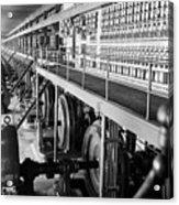 Edison Sault Power Plant At Sault Ste Acrylic Print