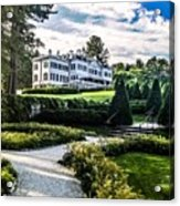 Edith Wharton Mansion Acrylic Print