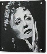 Edith Acrylic Print by Zhanna Diachenko