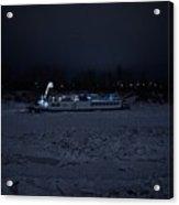 Edmonton Queen Best In Ice  - Winter Acrylic Print