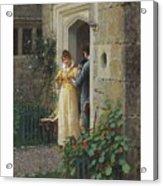 Edmund Blair Leighton 1852-1922 The Request Acrylic Print