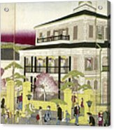 Edo: Bank, C1873 Acrylic Print