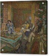 Edouard Vuillard  Sewing Party At Loctudy Acrylic Print
