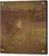 Edouard Vuillard - Walking In The Vineyard Acrylic Print