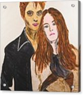 Edward And Bella Acrylic Print