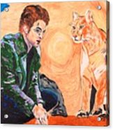 Edward Cullen And His Diet Acrylic Print