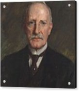 Edward Guthrie Kennedy , By William Merritt Chase 1849-1916 Acrylic Print