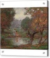Edward Henry Potthast 1857 - 1927 October Days Acrylic Print