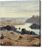 Edward Lear 1812 - 1888 British Philae Acrylic Print