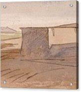 Edward Lear - Dendera Acrylic Print