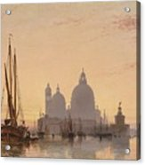 Edward William Cooke Venezia 1851 Acrylic Print
