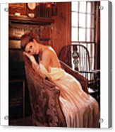 Edwardian Lawn Dress Acrylic Print
