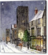 Edwardian Oxford Acrylic Print