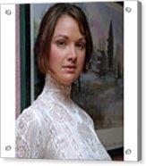 Edwardian Portrait Acrylic Print