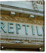 Edwardian Reptile House  Acrylic Print