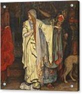 Edwin Austin Abbey 1852-1911 King Lear, Cordelias Farewell Acrylic Print