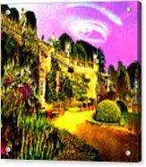 Eerie Estate Acrylic Print