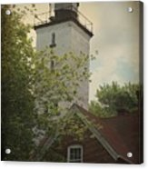 Erie Lighthouse 1872 Acrylic Print