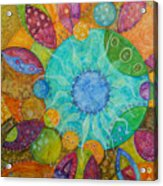 Effervescent Acrylic Print by Tanielle Childers