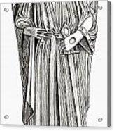 Effigy Of King John On His Tomb In Acrylic Print