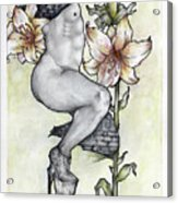 Efflorescence Acrylic Print