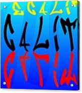 Egalite Acrylic Print
