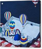 Egg Balloons Acrylic Print