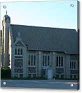 Egg Harbor Church Acrylic Print