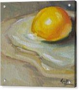 Egg Yolk No. 1 Acrylic Print