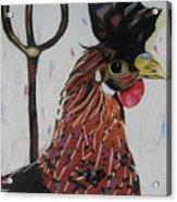 Egg Zactly Acrylic Print