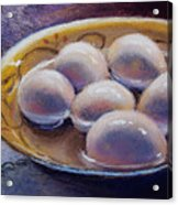 Eggs In Window Light Acrylic Print