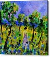 Eglantine's Summer Walk Acrylic Print