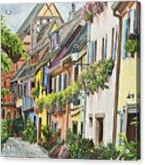 Eguisheim In Bloom Acrylic Print