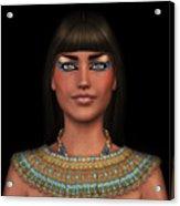 Egyian Princess Portrait Acrylic Print