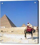 Egypt - Pyramid Acrylic Print