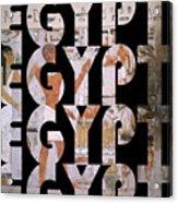 Egypt 6 Acrylic Print