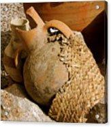 Egypt Bedouin Pots Acrylic Print