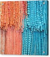 Egypt Coral And Turquoise From Mount Sinai Egypt Acrylic Print