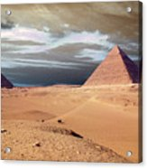 Egypt Eyes Acrylic Print