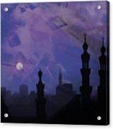 Egypt Mosque  Acrylic Print