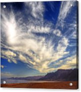 Egypt Sahara Desert Red Sea Night Sky Image Acrylic Print