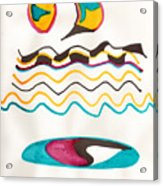 Egyptian Design Acrylic Print