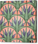 Egyptian Floral Acrylic Print