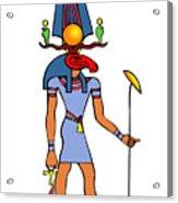 Egyptian God - Khensu Acrylic Print