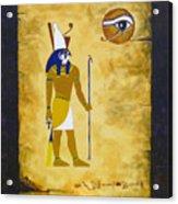 Egyptian God Horus Acrylic Print