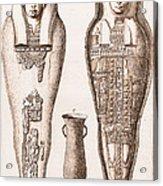 Egyptian Mummy, Illustration Acrylic Print