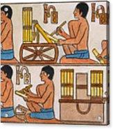 Egyptian Scribes Acrylic Print