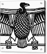 Egyptian Symbol: Vulture Acrylic Print